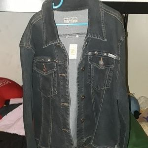 This is a Max studio Denim Jeans Jacket.